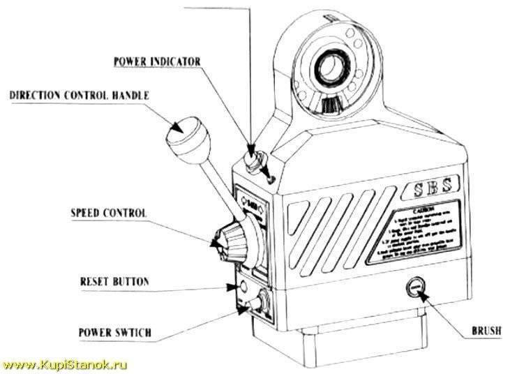 Устройство автоподачи по оси Х (WMD20V/WMD25V)